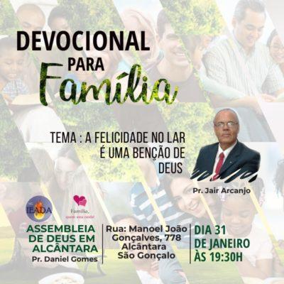 Devocional para família