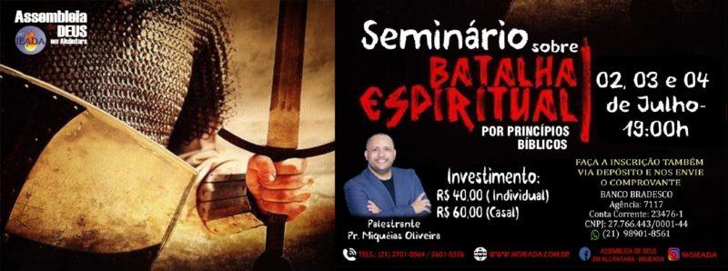 Seminário Batalha Espiritual
