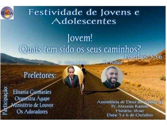 Festividade de jovens e Adolescentes