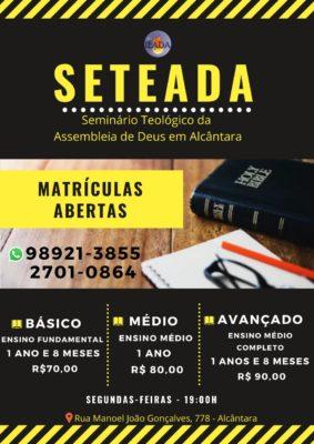 Seminário Teologico da Assembléia de Deus em Alcântara