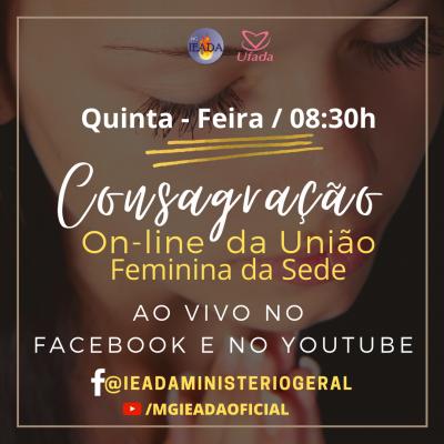 Consagração da União Feminina da Sede